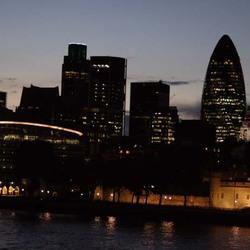 aan de over van de Thames