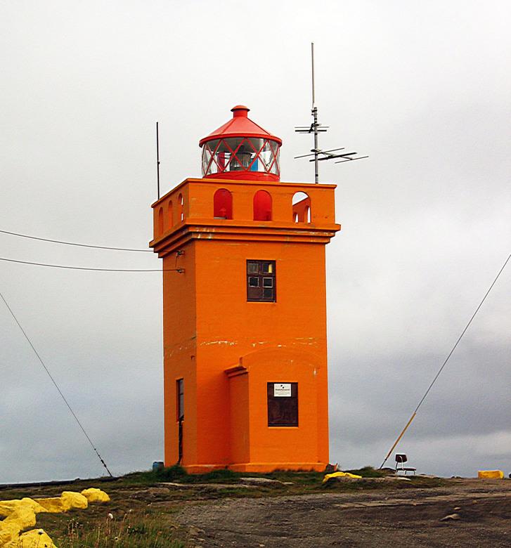 Vuurtoren IJsland -