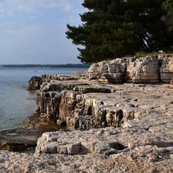 Kroatische kust bij Pula