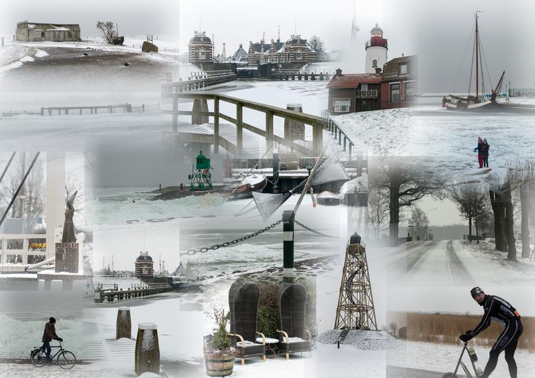 Winterse plaatjes... - Winterse plaatjes, gemaakt op zaterdag 26-1-2013