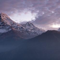 Annapurna vanaf Poon Hill