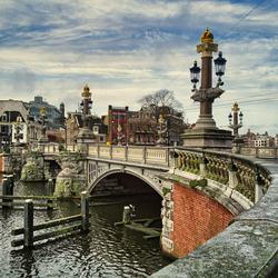 Blauwbrug - Amsterdam