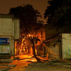 Een straat in Xi'an China 001