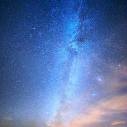 Selfie met de Melkweg