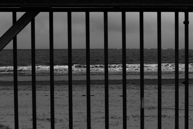 Gevangene van de zee! -