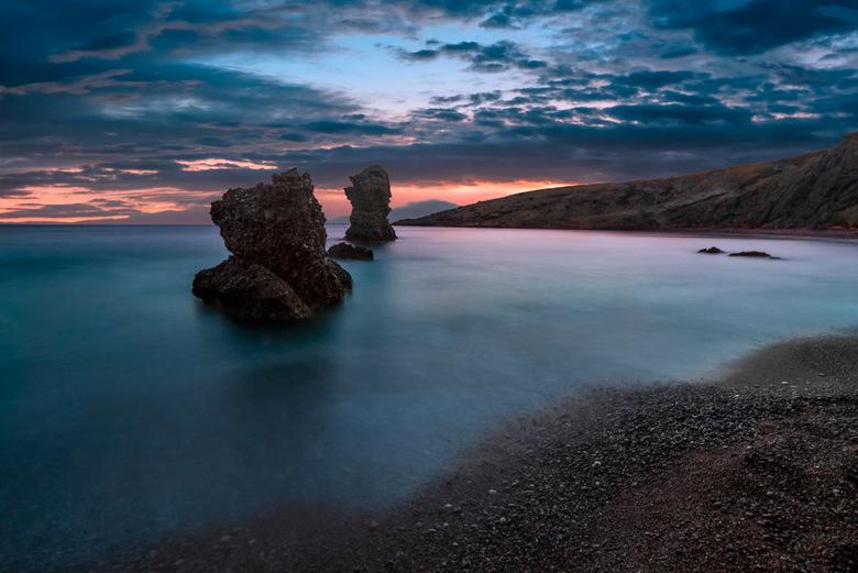 De gladde zee -