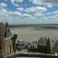 uitzicht Mont St Michel