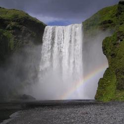 Plaatselijke regenboog
