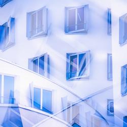 Windows double exposure