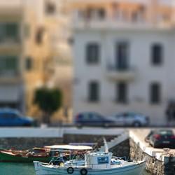 Mini fishingboat Agios Nikolaos