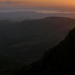 zonsondergang in CostaRica