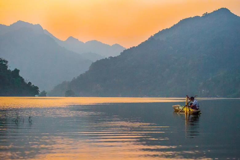 visser op het birameer