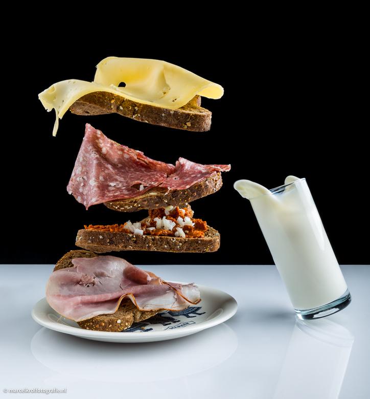 Gezond ontbijtje -