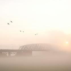 Brug over de IJssel