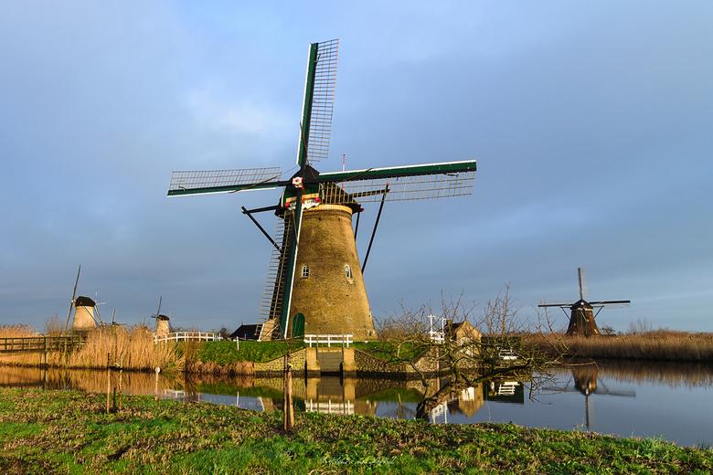 Kinderkijk Molen - Kinderdijk 28-12-2020