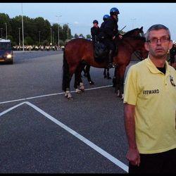 Steward (na afloop Vitesse - Den Haag)