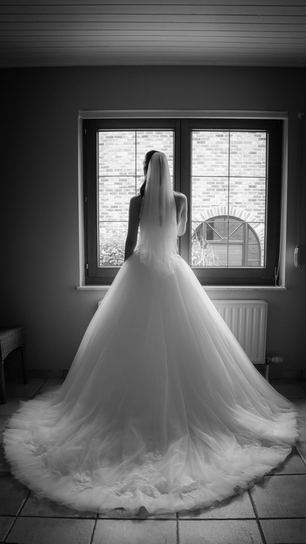 Wedding dress - Klaar voor de speciale dag...