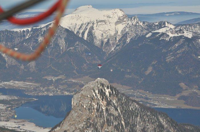 Ballonvaren boven de Alpen - Vorige week wezen ballonvaren in de Alpen dit leverde mooie beelden op