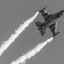 F-16 Dark Falcon van de Belgische luchtmacht.