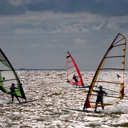 Windsurfen bij Makkum