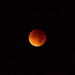 Blood moon 2015 Emmeloord