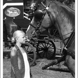 meisjes en paarden