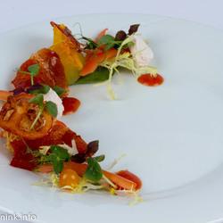 proeverij tomaat