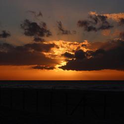 Zonsondergang aan de kust 3