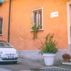 Fiat 500 in thuisland Italie