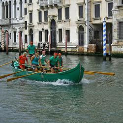 De roeiers van Venetië