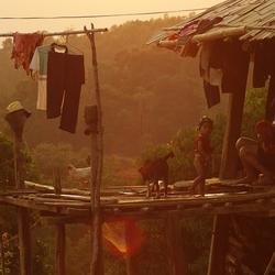 Laos Sunset Village