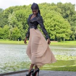 See through skirt