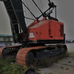 Hijskraan Nieuwe havenweg Arnhem
