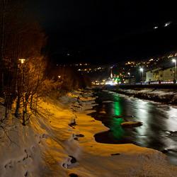 Winters riviertje