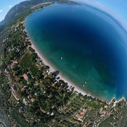 360 degrees Aegean sea