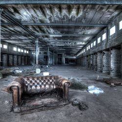 Urban Exploration - No sitting allowed