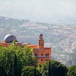 Uitzicht vanaf het Alhambra