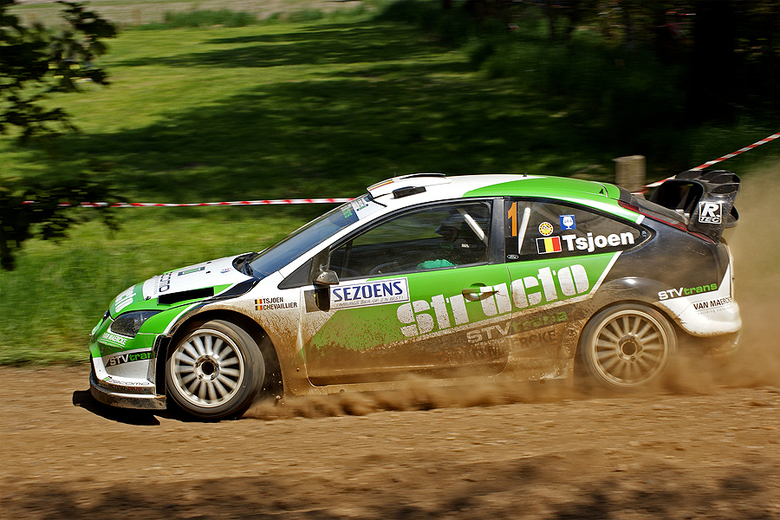 Sezoensrally 22-05 | Focus - De winnaar van de Sezoensrally, Tsjoen in z'n Ford Focus