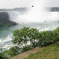 Niagarawatervallen...