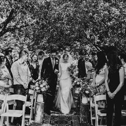 Father of the bride + Bride