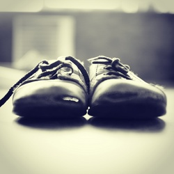 Ouwe schoenen