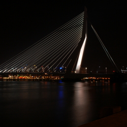 Erasmusbrug by night II