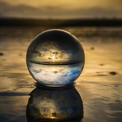 Het leven door een glazen bol