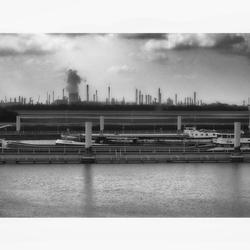 industrieel landschap