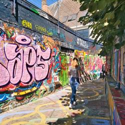 Het Graffitistraatje