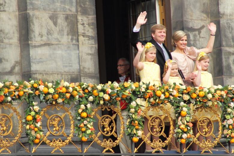 Koningsfamilie - Koninginnedag2013