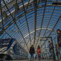 Station Amsterdam Sloterdijk....