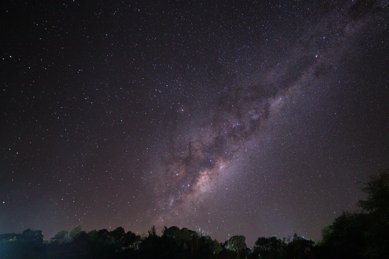 Melkweg op een plek donker genoeg in SA - Eindelijk een mooie melkweg na pet met lichtvervuiling in Nederland. daar gaat mijn Samyang 14mm voor mee. D