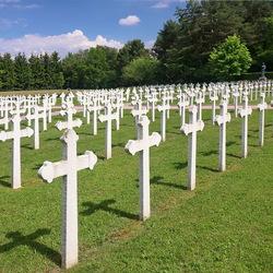 Oorlogsbegraafplaats.