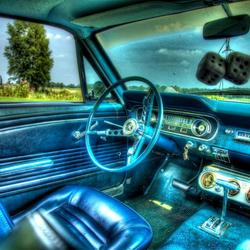 Ford Mustang Fastback uit 1965